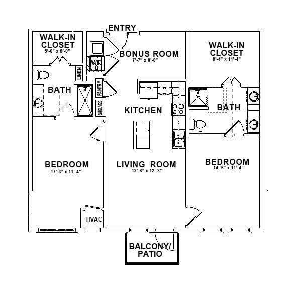 The Mansfield Floor Plan thumbnail