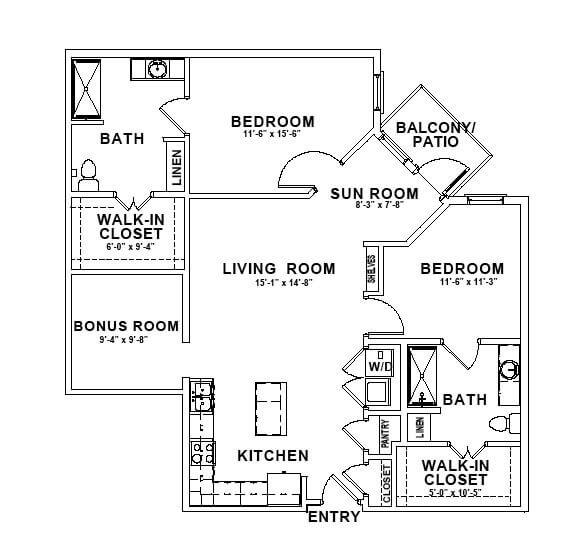 The Yale Floor Plan thumbnail