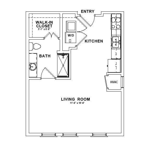 The Magnolia floor plan thumbnail